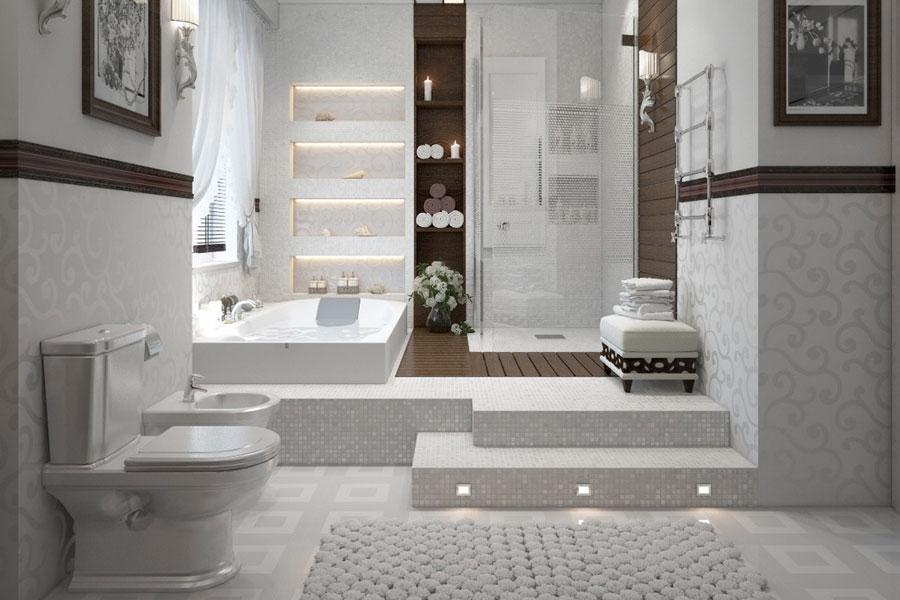 Tiling rockville maryland kitchen and bath concept for Bath remodel rockville md